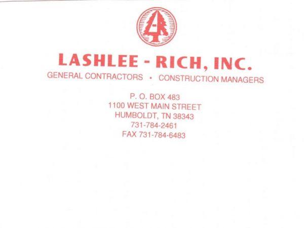 Lashlee-Rich, Inc